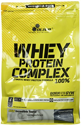 Olimp Whey Protein Complex Vanille, 1er Pack (1 x 700 g)