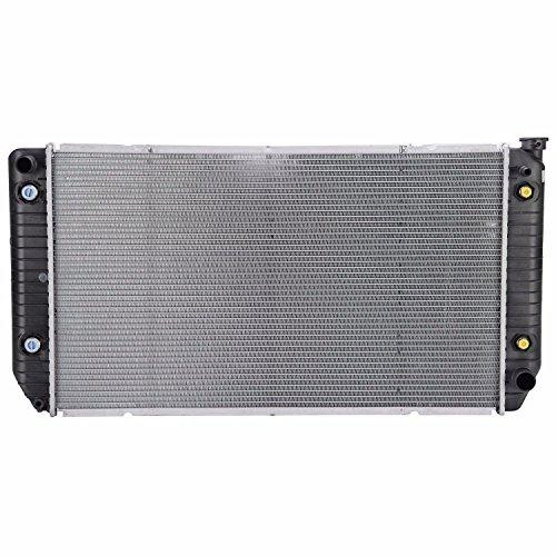 Klimoto Brand New Radiator For C2500 C3500 K2500 K3500 Suburban C3500HD 7.4 V8 2 row 2 (C2500 Suburban Radiator)