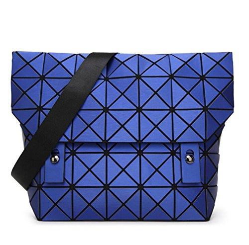 à bandoulière Square Casual blue Sac Messenger Sac géométrique Surface Femmes Femmes Haoling Sac Sacs zwa8aA