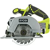 Ryobi P506 One+ Lithium Ion 18V 5 1/2 Inch 4,700 RPM Cordless Circular Saw with Laser Guide and Carbide-Tipped Blade (Battery Not Included, Power Tool Only)