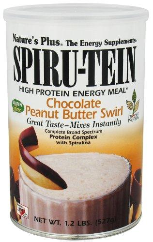 Nature's Plus Spiru-Tein Shake Chocolate Peanut Butter Swirl