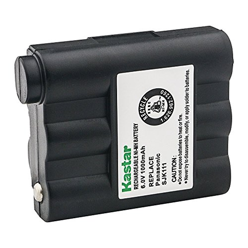 Kastar Cordless Battery 1 Pack Ni-MH 6V 1000mAh, Replacement Two-Way Radio Battery for Midland GXT-775 GXT-795 GXT720 GXT750 BATT5R BATT-5R GXT-300 GXT-325 GXT-550 GXT-555 GXT-700 GXT-710 AVP-7 AVP7