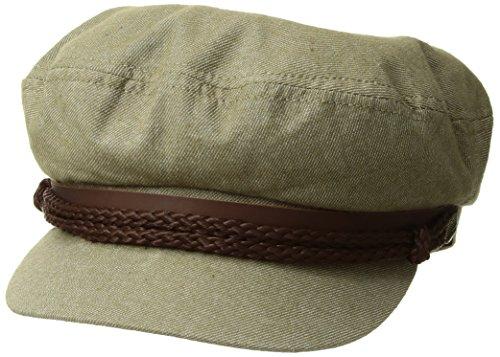 (Brixton Men's Fiddler Greek Fisherman Hat, sage, X-Large)