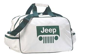 Neu Jeep Logo Sporttasche Leichte Seesack Reisegepaeck