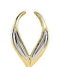 Bonyak Jewelry 14k White Gold Pendant Enhancer