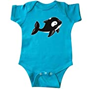 inktastic Orca Infant Creeper 12 Months Turquoise