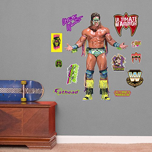 Fathead Ultimate Warrior Junior Peel and Stick Wall Decals by FATHEAD