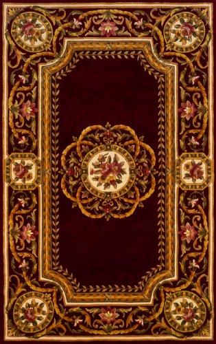 Momeni Rugs HARMOHA-12BUR5080 Harmony Collection, Traditional Area Rug, 5' x 8', ()