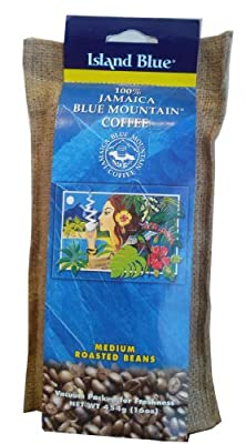 Island Blue 100% Jamaica Blue Mountain Coffee