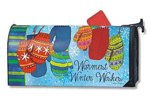 MailWraps Warm Woolen Mittens Mailbox Cover #01256
