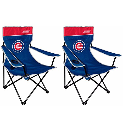 MLB Chicago Cubs Broadband Quad Chair (2 (Mlb Chair)