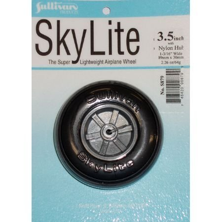 Sullivan Products Skylite Wheel w/Treads, 3-1/2