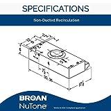 Broan-NuTone BUEZ230BL Broan Economy UC 190 CFM 30N