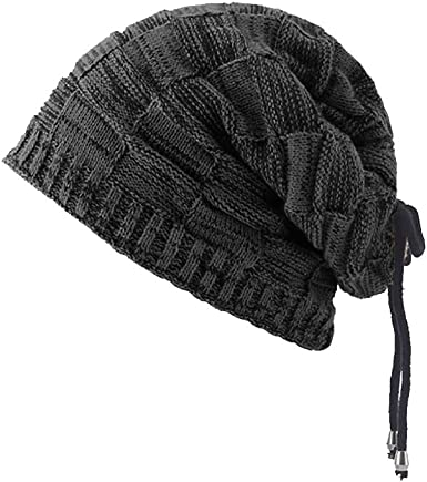 mens woolly Winter Beanie Unisex Knitted Cap Hat