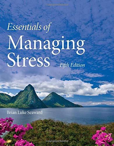 Essentials of Managing Stress by Jones & Bartlett Learning