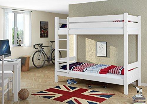 Stabiles Etagenbett Für Erwachsene : Erst holz etagenbett für erwachsene weiß cm nischenhöhe