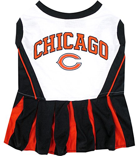 Chicago Bears NFL Cheerleader Dress For Dogs - Size Small -