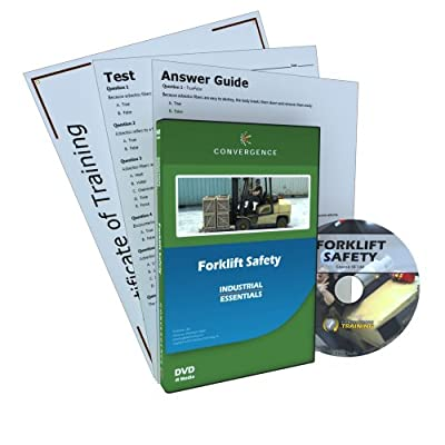 Convergence C-130 Forklift Safety Training Program DVD, 49 minutes Time