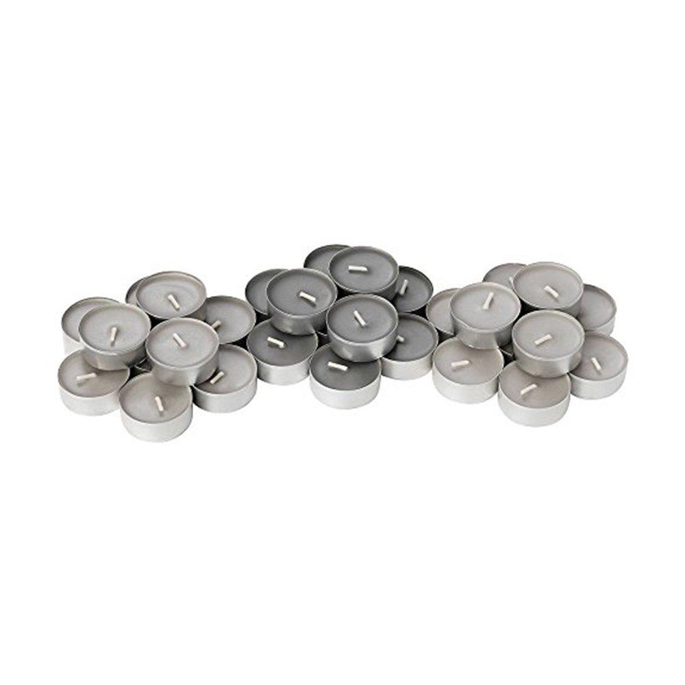 Gray Color Scent of Nutmeg IKEA Sinnlig Scented Tealight 60 Pack Cinnamon and Vanilla