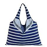 GOTOBUYWORLD Creative Fashion Style Colorful Tote Shopping Traveling Bag Foldable Reusable (3)