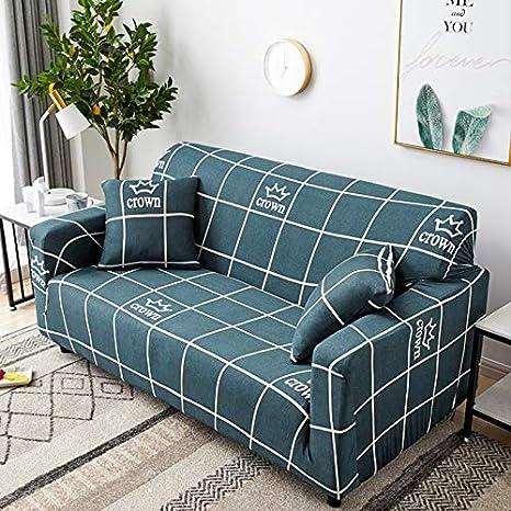HJFGIRL - Funda para sofá de 3 plazas, 1 Unidad, poliéster ...