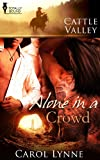 Front cover for the book Alone in a Crowd by Carol Lynne