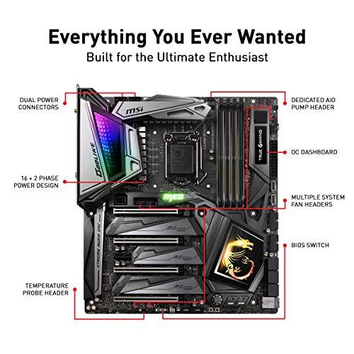 Build My PC, PC Builder, MSI MEG Z390 GODLIKE