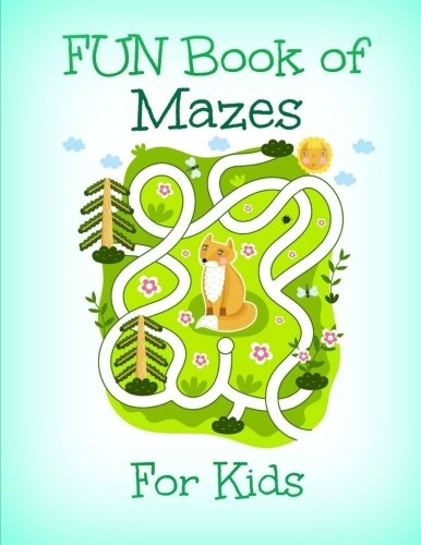 FUN Book of Mazes for Kids (Extra Large