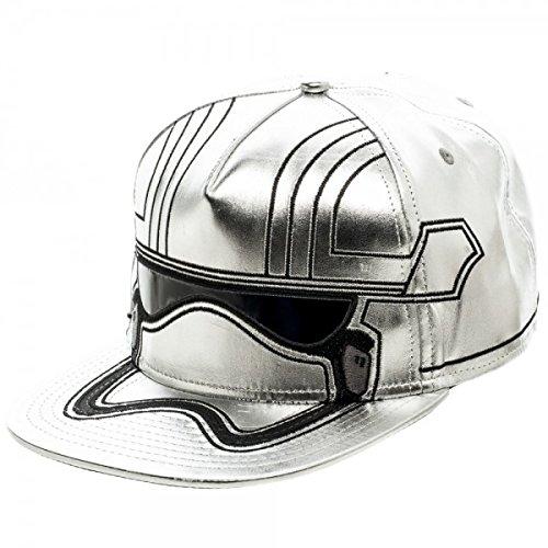 Star Wars 7 Captain Phasma Bigface Snapback Baseball - Wars Hat Leather Star