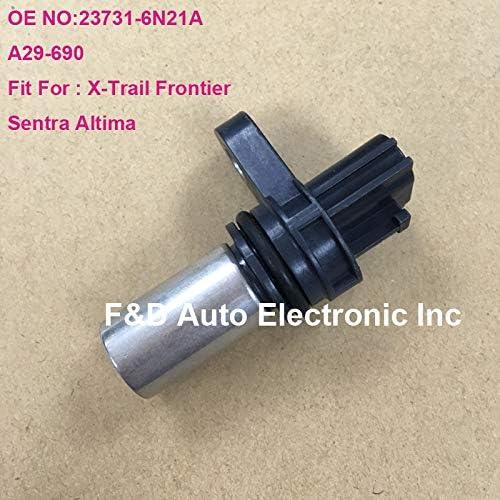 23731-6N21A GENUINE Nissan Crankshaft//Camshaft Position Sensor fits Nissan Sentra//Altima//Frontier//X-Trail