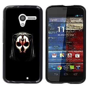 - Skull Mask Face Anonymous Art Alien Human - - Monedero pared Design Premium cuero del tir???¡¯???€????€??????????&f