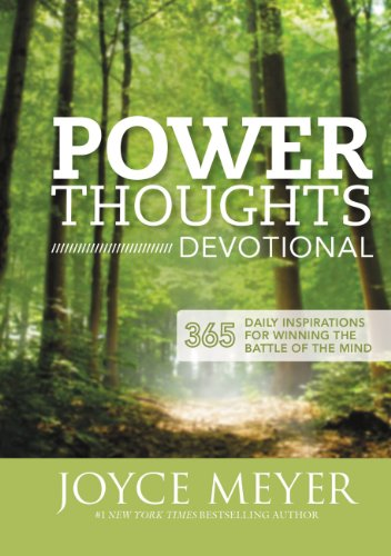 Power Thoughts Joyce Meyer Pdf