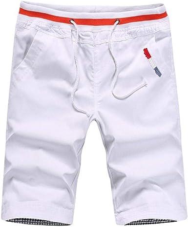 Pantalón Corto De Algodón Pantalón Bermudas Hombre para Pantalones ...