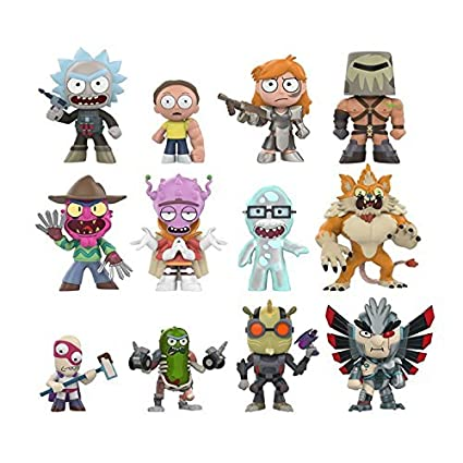 Amazon.com: Funko Mini Rick y Morty (un misterio figura ...
