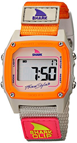 Freestyle Women's FS84860 Shark Clip Multicolor Digital Watch with Nylon Band