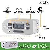 myTouchSmart Indoor Digital Plug-in Timer, 2