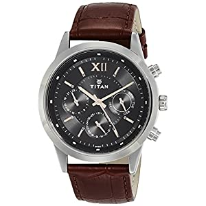 Titan Neo Analog Black Dial Men's Watch 1766SL02 / 1766SL02