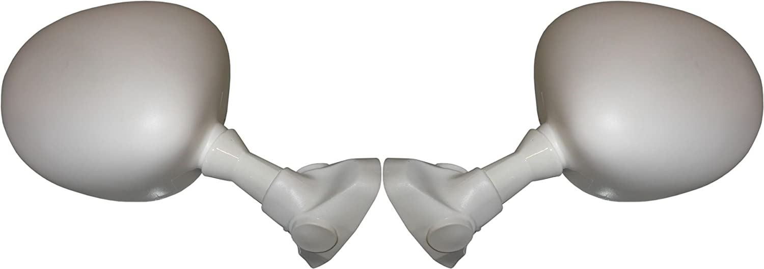 Yamaha FZR 600 White Mirrors Left /& Right Hand 1989-1993