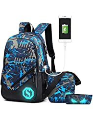 Eshops School Backpacks for Boys Bookbag for Kids Student Backpack