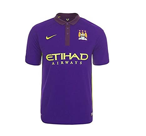 official photos 3ed6d e2588 Nike 2014-2015 Man City Third Football Soccer T-Shirt Jersey