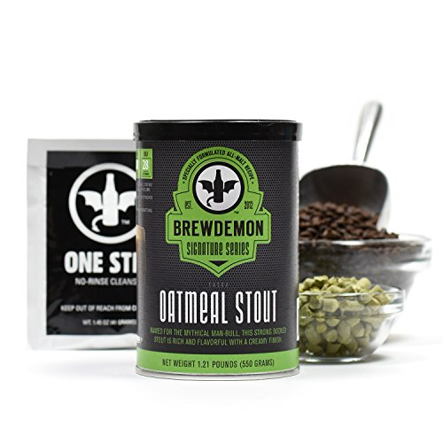 1-Gallon Shedu Oatmeal Stout Beer Refill Kit by BrewDemon