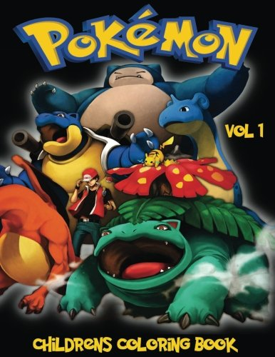Pokemon Childrens Coloring Book Vol 1 In This A4 Size We Have