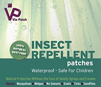 Amazon.com: Vie Patch Insect Repellent - 100% Natural ...