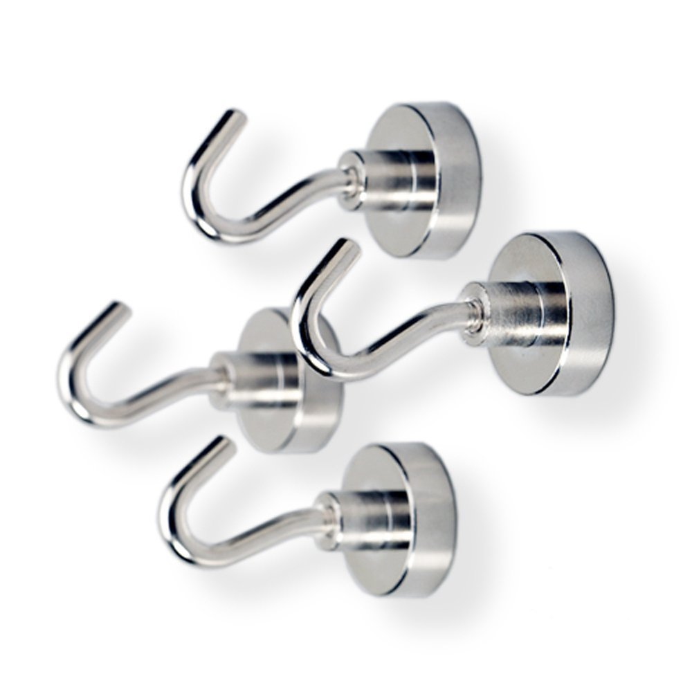 Tozz Pro Magnet Hooks - Magnet Hooks (4-pack) (10 Pound)