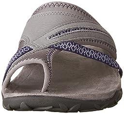 Merrell Women\'s Terran Post II Athletic Sandal, Sleet, 10 M US