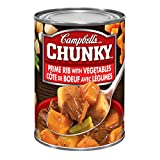 Campbell's Chunky Prime Rib With Vegetable Soup, 540ml