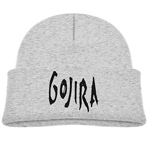 82f7b154 Yimo Kids Knitted Beanies Hat Gojira Head Winter Hat Knitted Skull Cap for  Boys Girls Gray