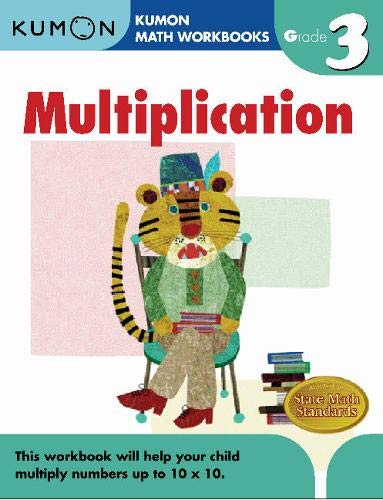 Grade 3 Multiplication (Kumon Math Workbooks) (2nd Grade End Of Year Math Test)