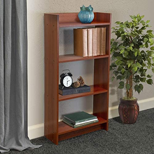 OS Home and Office Model 106067 4 Shelf Student Bookcase