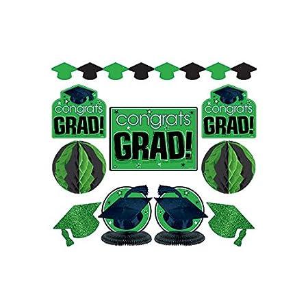 amazon com amscan congrats grad graduation party room decorating